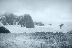Perito Moreno Glacier argentinië 3d zeer mooie driedimensionele illustratie, cijfer Royalty-vrije Stock Afbeeldingen