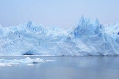 Perito Moreno Glacier argentinië 3d zeer mooie driedimensionele illustratie, cijfer Stock Foto's