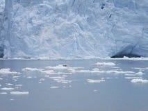 Perito Moreno Glacier argentinië 3d zeer mooie driedimensionele illustratie, cijfer Stock Afbeelding