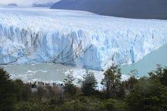 Perito Moreno Glacier argentinië 3d zeer mooie driedimensionele illustratie, cijfer Stock Afbeeldingen