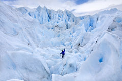 Perito Moreno Glacier - Argentinië Royalty-vrije Stock Afbeeldingen