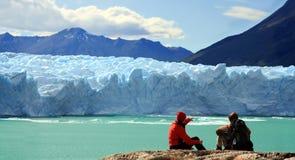 Perito Moreno Glacier, Argentinië Royalty-vrije Stock Afbeeldingen