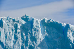 Perito Moreno glacier. Close-up view of the Perito Moreno glacier in Patagonia, Argentina Stock Photography