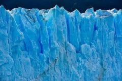 Perito Moreno glacier. Close-up view of the Perito Moreno glacier in Patagonia, Argentina Royalty Free Stock Photos