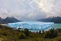 Perito Moreno Glacier On A Cloudy Day Royalty Free Stock Photo