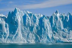 Perito Moreno glacier. Day view from the water at the Perito Moreno glacier in Patagonia, Argentina Stock Photography
