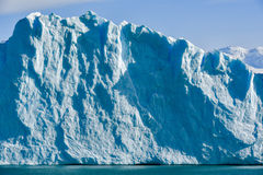 Perito Moreno glacier. Day view from the water at the Perito Moreno glacier in Patagonia, Argentina Royalty Free Stock Photography