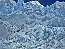 Perito Moreno Glacier royalty-vrije stock afbeeldingen