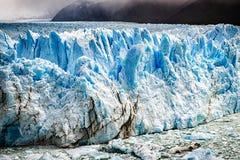 Perito Moreno Glacier. Detail of the Perito Moreno Glacier Stock Photography