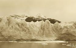 Perito Moreno glacier detail. Patagonian landscape. Argentina Stock Photography