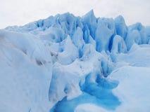 Perito Moreno Glacier - El Cafalate, Argentina. Detail of Perito Moreno Glacier Royalty Free Stock Photography