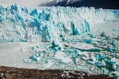 Perito Moreno glacier, El Calafate Argentina, La Patagonia royalty free stock photography