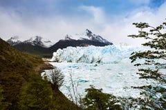Perito Moreno Glacier en la Patagonia, la Argentina imagen de archivo libre de regalías
