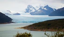 Perito Moreno Glacier. General view of the Perito Moreno Glacier in Los Glaciares National Park in Argentina Royalty Free Stock Images