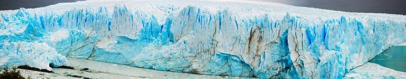 Perito Moreno Glacier. General view of the Perito Moreno Glacier in Los Glaciares National Park in Argentina Stock Photo