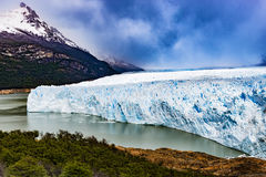 Perito Moreno Glacier. The Perito Moreno Glaciar in Argentina Royalty Free Stock Images