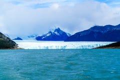 Perito Moreno Glacier iat το εθνικό πάρκο παγετώνων Los Στοκ Εικόνες