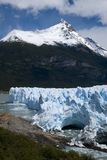 The Perito Moreno glacier ice creates a fairy-tale Royalty Free Stock Images
