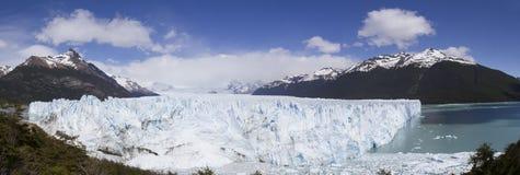 Perito Moreno Glacier and Lake Argentio Stock Photo