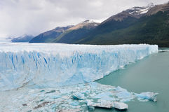 Perito Moreno Glacier. The Perito Moreno Glacier located in the Los Glaciares National Park in southwest Santa Cruz province, Argentina Stock Image