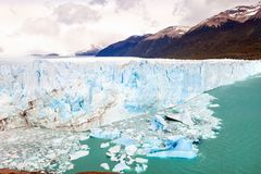 The Perito Moreno Glacier, located in Santa Cruz Provine Argenti Stock Photos
