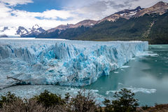 Perito Moreno Glacier at Los Glaciares National Park in Patagonia - El Calafate, Santa Cruz, Argentina Royalty Free Stock Photos