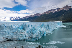 Perito Moreno Glacier at Los Glaciares National Park in Patagonia - El Calafate, Santa Cruz, Argentina Royalty Free Stock Photography