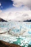 Perito Moreno Glacier, nationalpark för Los Glaciares i sydväster S Fotografering för Bildbyråer