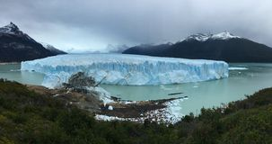 Perito Moreno Glacier - natural phenomenon stock photography
