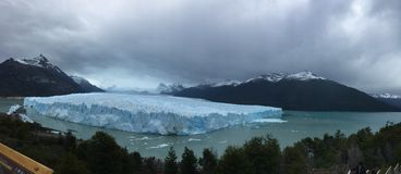 Perito Moreno Glacier - natural phenomenon royalty free stock photo