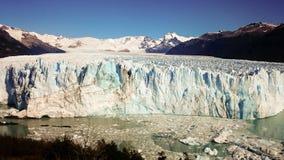 Perito Moreno Glacier near El Calafate in the Patagonia region of Argentina. stock photo