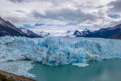 Perito Moreno Glacier no parque nacional do Los Glaciares no Patagonia - EL Calafate, Santa Cruz, Argentina Fotos de Stock