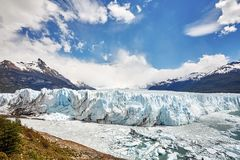 Perito Moreno Glacier, Argentina. Royalty Free Stock Photo