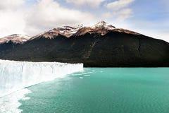 Perito Moreno Glacier, parque nacional del Los Glaciares en el sudoeste Santa Cruz Province, la Argentina Imágenes de archivo libres de regalías