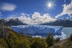 Perito Moreno Glacier - Patagonië - Argentinië Royalty-vrije Stock Fotografie