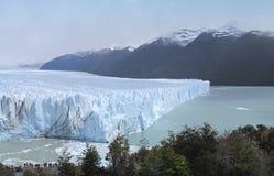 Perito Moreno Glacier in Patagonië argentinië 3d zeer mooie driedimensionele illustratie, cijfer Royalty-vrije Stock Afbeeldingen