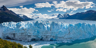 Perito Moreno Glacier, Patagonië, Argentinië Stock Foto's