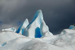 The Perito Moreno Glacier in Patagonia, Royalty Free Stock Photography