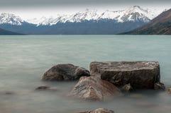 Perito Moreno Glacier, Patagonia - Argentina royaltyfria foton