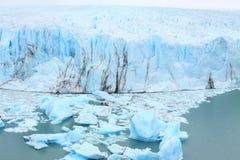 Perito Moreno glacier, Patagonia, Argentina. Royalty Free Stock Photos