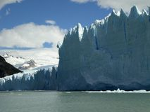 The Perito Moreno Glacier in Patagonia, Argentina. Royalty Free Stock Image
