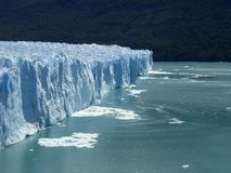 The Perito Moreno Glacier in Patagonia, Argentina. royalty free stock photo
