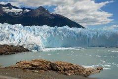 The Perito Moreno Glacier in Patagonia, Argentina.  Royalty Free Stock Images
