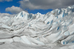 The Perito Moreno Glacier in Patagonia, Argentina. Stock Images