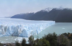 Perito Moreno glacier in Patagonia. Argentina. South America Royalty Free Stock Images