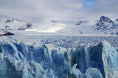 Perito Moreno Glacier in Patagonia, Los Glaciares National Park, Argentina Royalty Free Stock Images