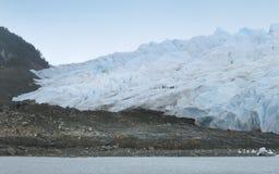 Perito moreno glacier. Patagonian landscape. Stock Images
