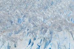 Perito Moreno Glacier peaks Stock Image