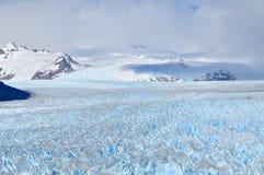 Perito Moreno Glacier Peaks Royalty Free Stock Photo