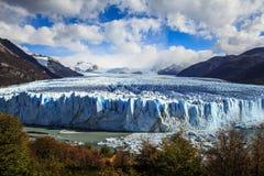 Perito Moreno Glacier, Santa Cruz, Patagonia, la Argentina Foto de archivo libre de regalías